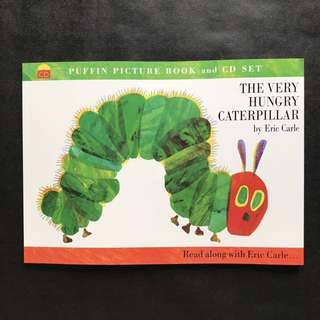 💥 NEW - The Very Hungry Caterpillar Set with CD (Picture Puffins) - Children Learning Book #blackfridaysale