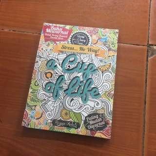 Buku Mewarnai Anti Stress