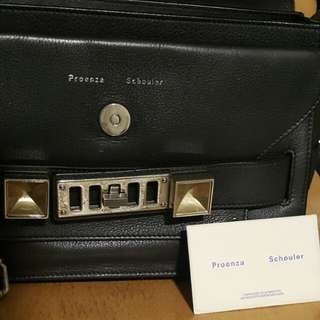 REDUCE!!! Proenza Schouler PS11 Classic Black Authentic Limited and discontinued