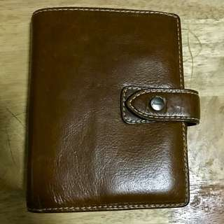 FILOFAX MALDEN pocket in Ochre
