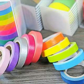 Colorful tapes set