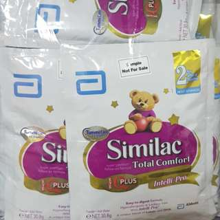Milk Powder Free postage Enfagrow stage 3, Similac Total Comfort stage2 and stage3, Isomil stage2 good for travelling
