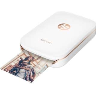 HP Sprocket Portable Photo Printer with 50 sheets HP ZINK Photo Paper
