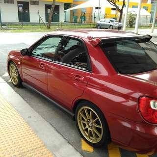 Subaru impreza ts 1.6 (manual)