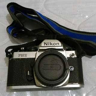 🚚 Nikon FM2 銀色底片機機身