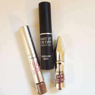 Mascara and brow products