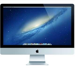 Apple iMac ME088LL/A 27-Inch Desktop