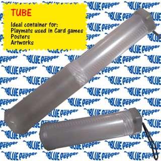Tube Clear White