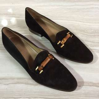 GUCCI bamboo loafers