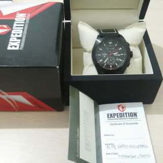 Jam Expedition black leather EXF 6689 lusmulus origin