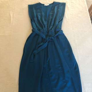 Blue party dress size 16