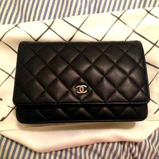 Chanel Lambskin Clucth & Sling