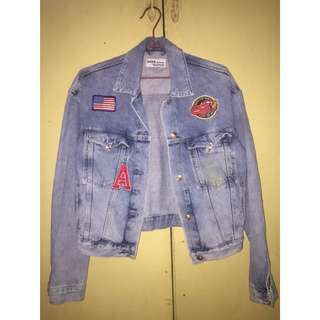 ZARA denim jacket 💜