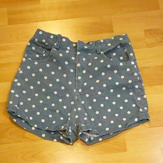 Brandy Melville polkadot shorts
