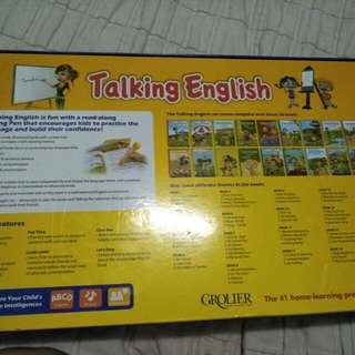 Talking english