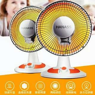 家用小太陽取暖器 節能大號迷你立式暖風機 冬季台式落地搖頭 HK$299