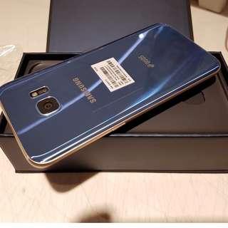 Samsung S7 Edge Blue Coral 32GB Open Line