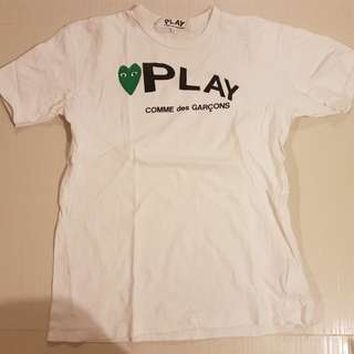 Cdg Comme Des Garcons Play t-shirt tee