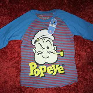 Baju Popaye Uk 4-5 Tahun