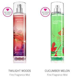 Bath and Body Works (Retired Scent)