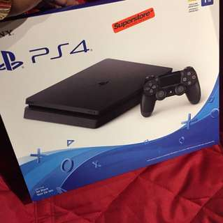 PS4 Brand new in box