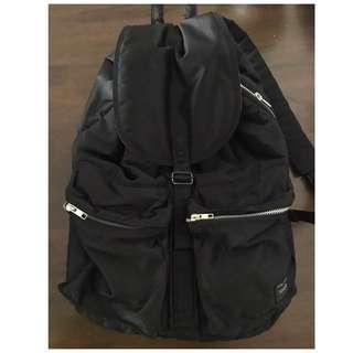 真品購置日本Porter黑色型格背包 背囊 Vintage Classic jambo boy Bag 斜孭袋 側咩袋 銀包 卡片套 cardholder