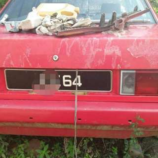 2 digit plate no for sale...with car..car not start over 3 years..rm3k..0172880037