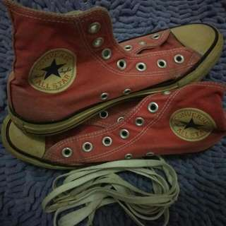 Converse Red 4 1/2