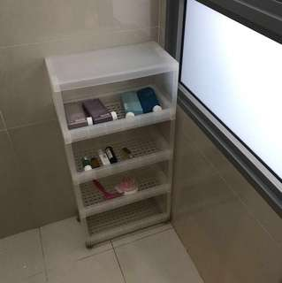 Muji Bathroom shelf