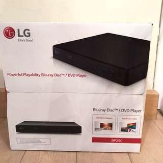 全新未拆盒LG Blu-ray Disc /DVD Player