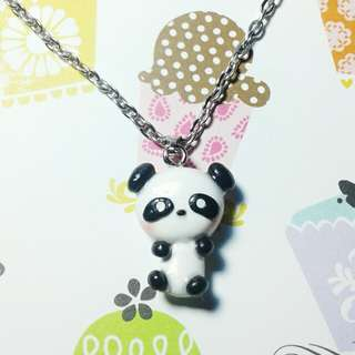 Kawaii Panda/Pastel Unicorn Necklace
