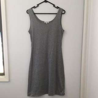 Valleygirl grey dress