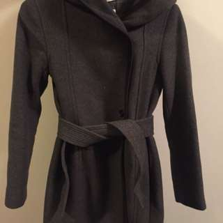 Wilfred Borda Coat - Dark Charcoal XS