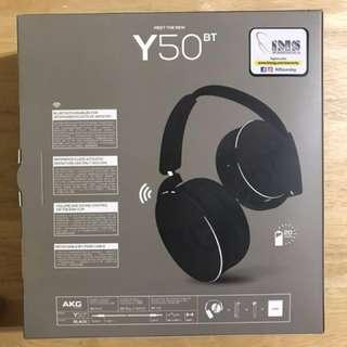AKG Y50BT Bluetooth Hi-Fi Headphones