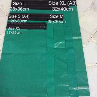 New instock: Polymailers for mailing and postage