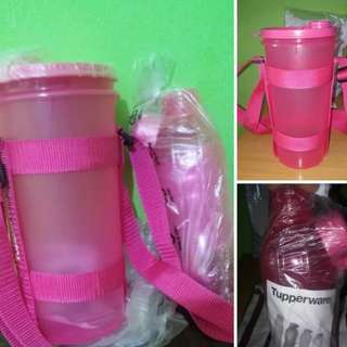 TUPPERWARE TUMBLER AND ECO BOTTLE
