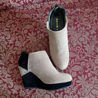 Jelly Beans Wedge Boots