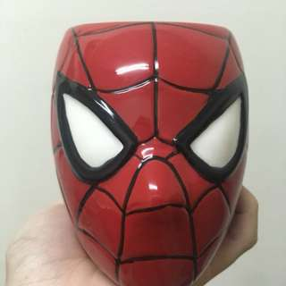 立體蜘蛛人造型馬克杯