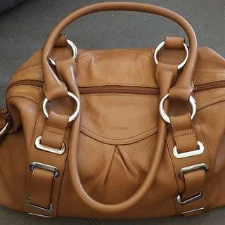 Tan Oroton Handbag