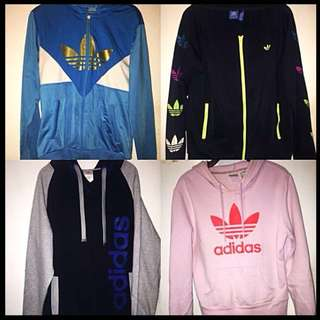 Adidas Jackets, Hoodies