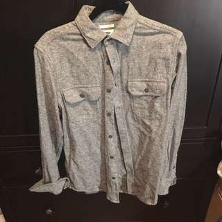 Old Navy Grey button down