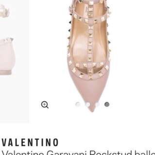 Valentino Garavani Rockstud Flats - PRICE HEAVILY REDUCED TO SELL