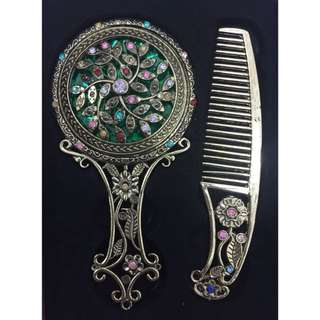 Mirror and comb set import china