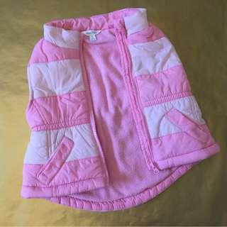 Pink Puffer Vest