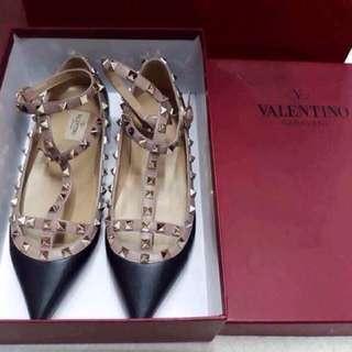 Auth Valentino Rockstud FLATS