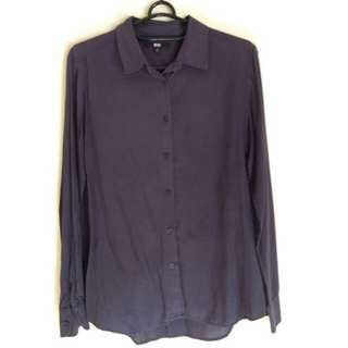 Uniqlo Basic Navy Shirt