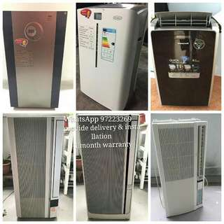 casement aircon 🌞offer #51. provide delivery and installation🌞 provide 1 month warranty all our items are serviced and tested before sending to our customer