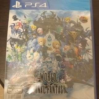 World Of Final Fantasy (Sealed)