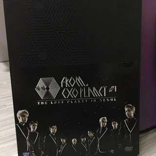 EXO LOST PLANET IN SEOUL DVD
