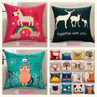 ✨ $1OFF per piece cushion covers assorted